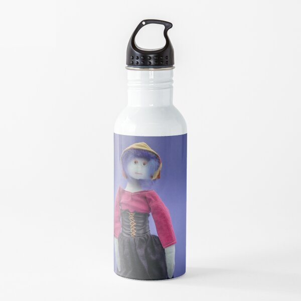 Sad and disapointed old lady Water Bottle