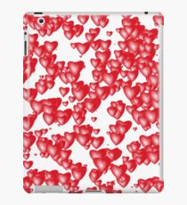 Red hearts iPad Case/Skin
