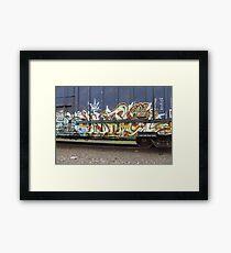 Tagging - Graffiti Framed Print