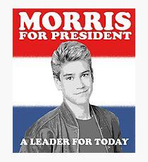 Morris for President Photographic Print