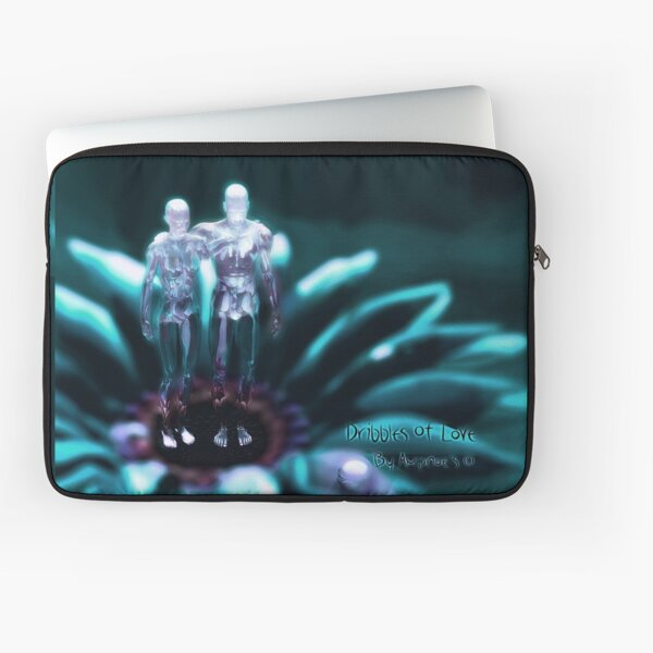 """Dribbles Of Love""  Laptop Sleeve"