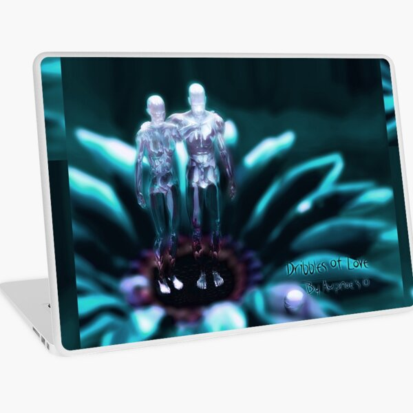 """Dribbles Of Love""  Laptop Skin"