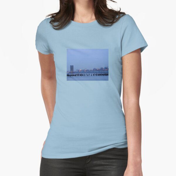 Pier 25 Hudson River Fitted T-Shirt