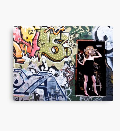 Missy De Meanour Canvas Print