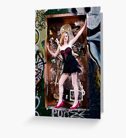 Missy De Meanour Greeting Card