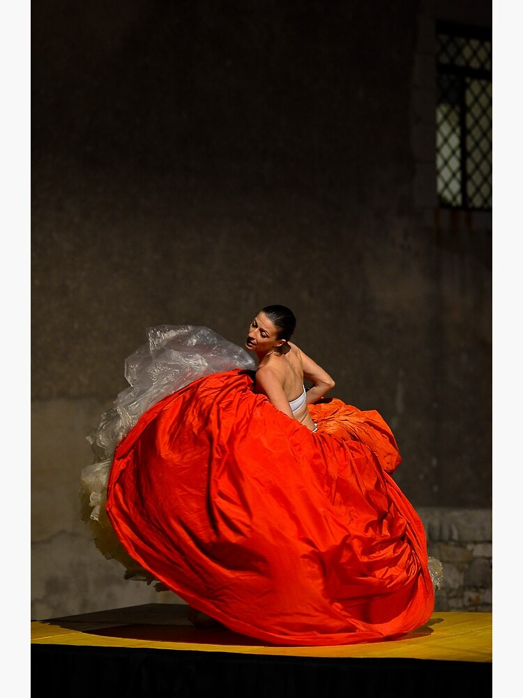 Dancer in red  by rapis60