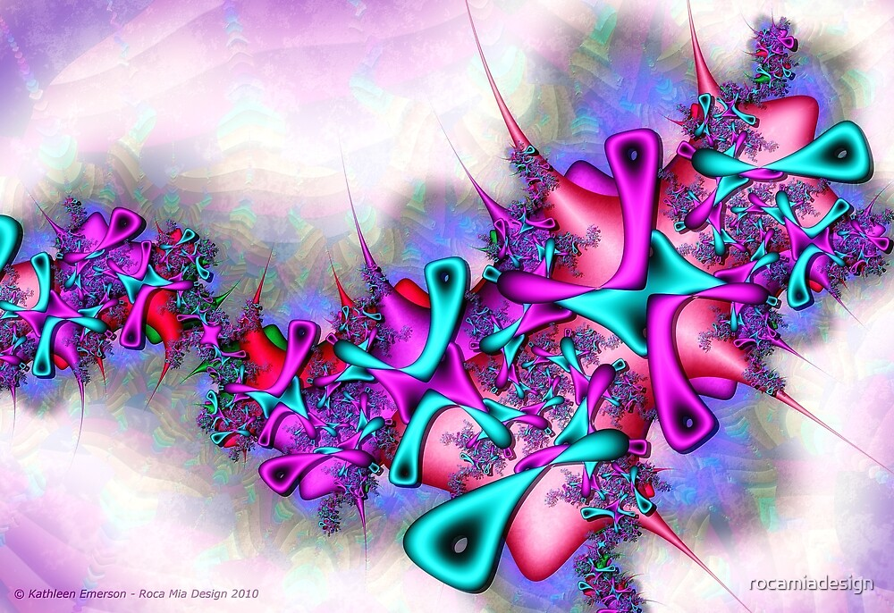 Pastel Profusion by rocamiadesign