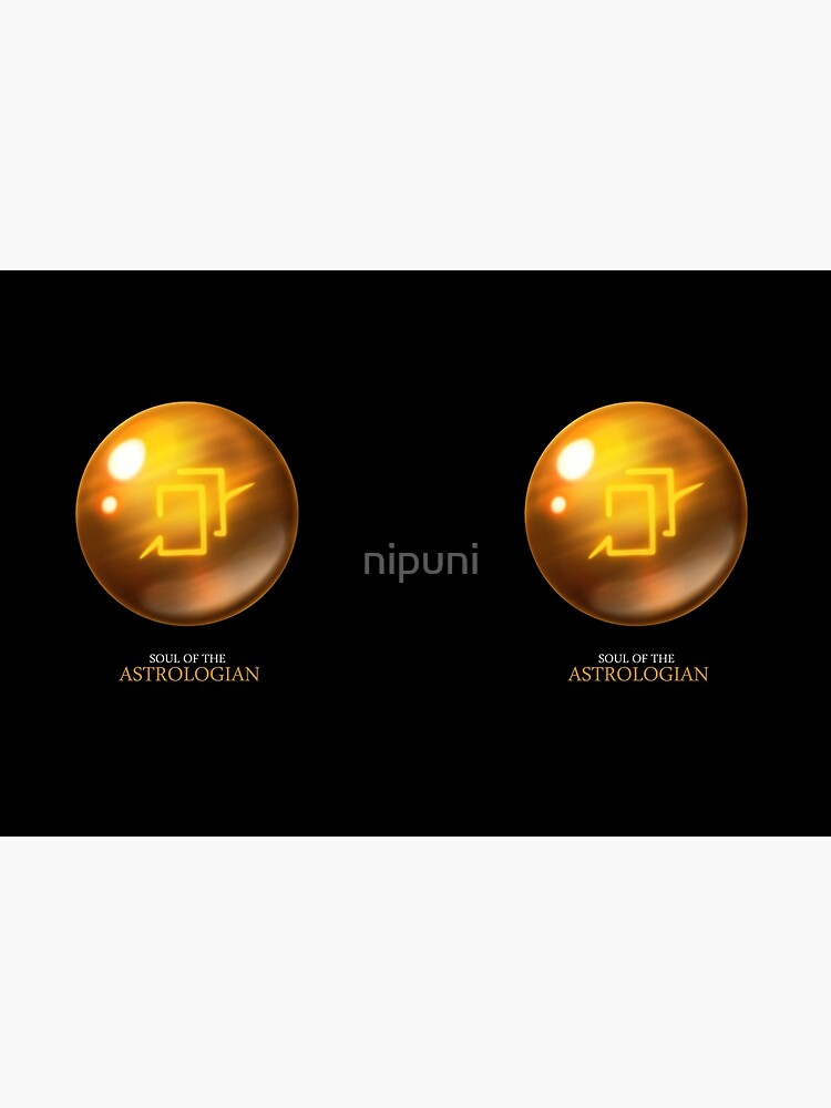 Soul of the Astrologian -black by nipuni