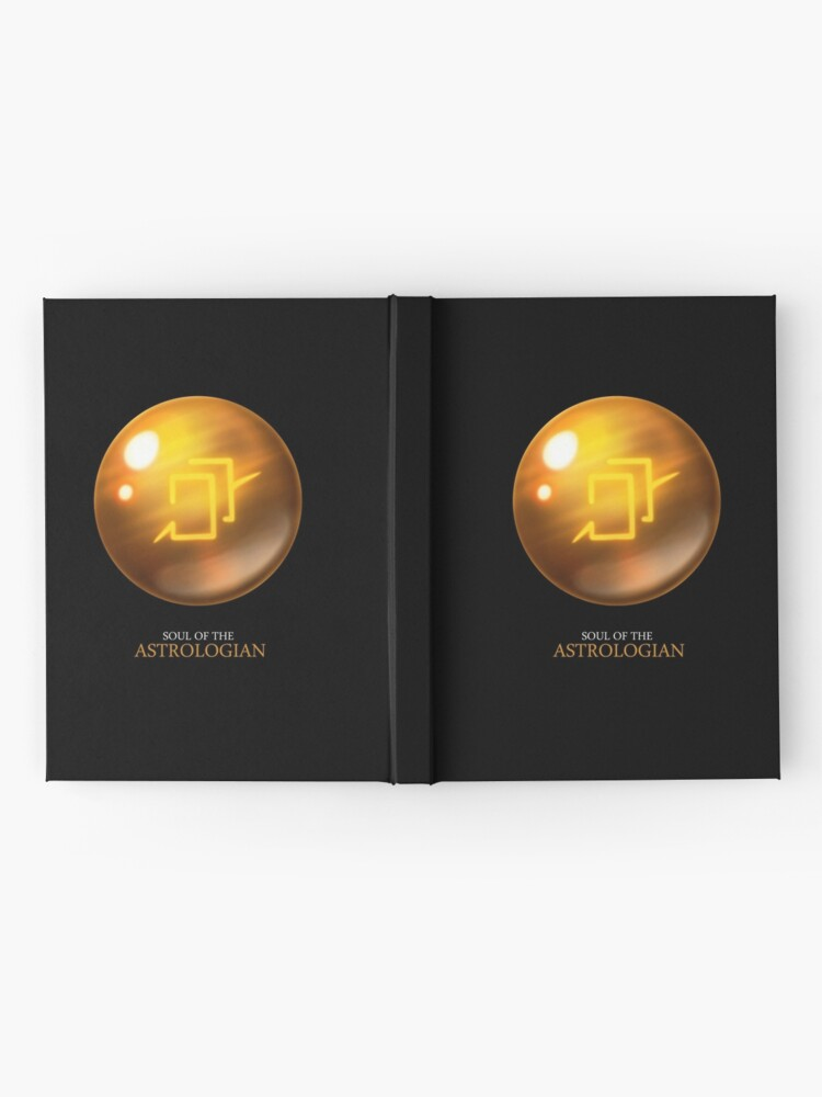 Alternate view of Soul of the Astrologian -black Hardcover Journal