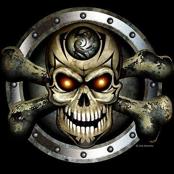 Crossbones ( Skull ) by LinkArtworks