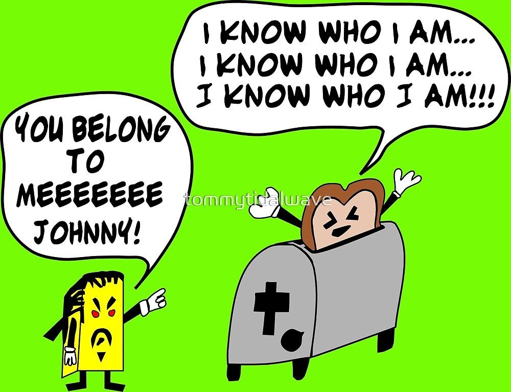 Funny Cartoon- Angel Heart by tommytidalwave