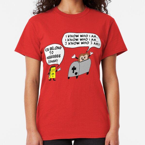 Funny Cartoon- Angel Heart Classic T-Shirt