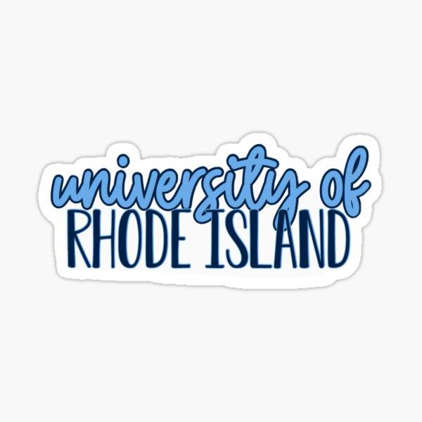 university of Rhode Island Sticker