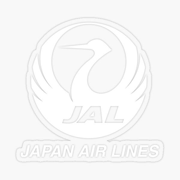 JAL Japanese Souvenir Sticker Airline Airways Air Japan