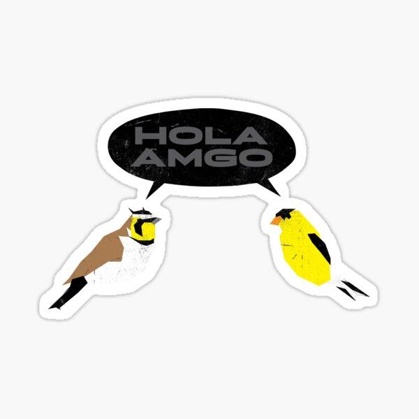 HOLA AMGO Sticker