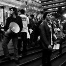 Palestinian Demonstration Melbourne by Andrew  Makowiecki