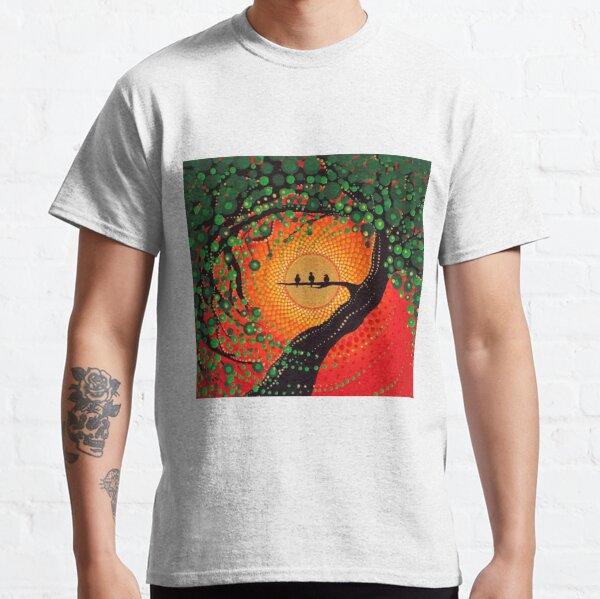 ¡Porque cada pequeña cosa va a estar bien!  Esta es una fotografía de la pintura original de Kaila Lance.  Obra original vendida en KailasCanvas.Etsy.com  UN AMOR Camiseta clásica