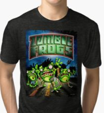 Zombie Frogs  Tri-blend T-Shirt