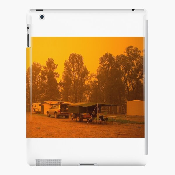 Dust Storm at St George, Qld iPad Snap Case