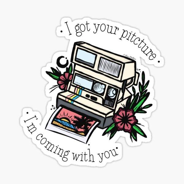 Dear Maria Polaroid  Sticker