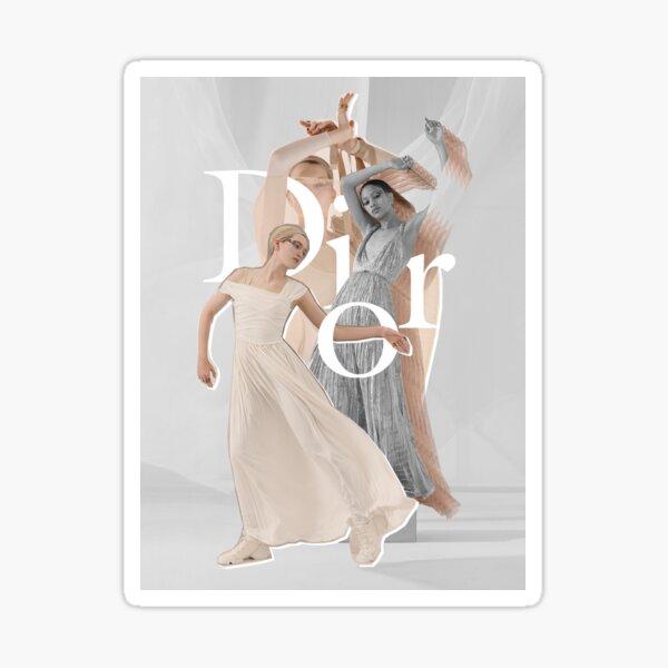 Fashion collage Sticker