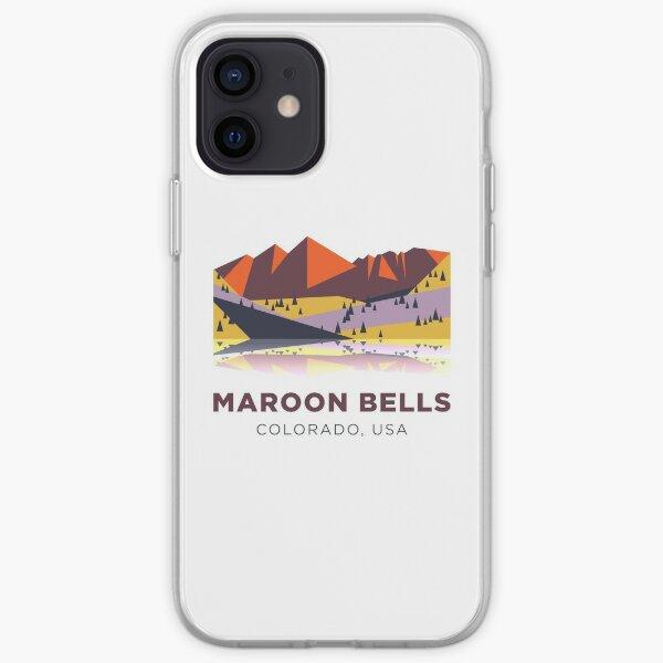 Maroon Bells - Colorado, USA iPhone Soft Case