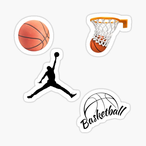 pack d'autocollants de basket-ball Sticker