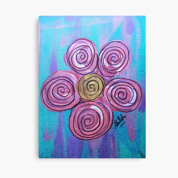 Spiral Bloom Canvas Print