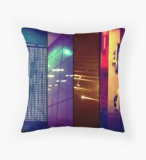 city scenes Throw Pillow