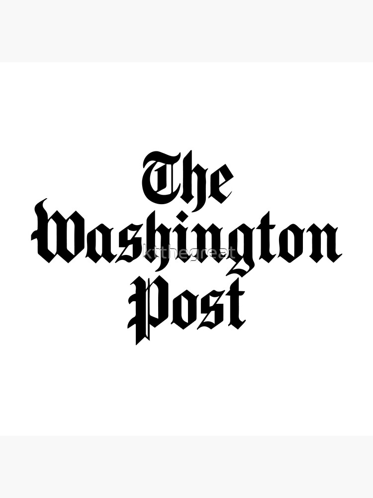 The Washington Post (black) by ktthegreat