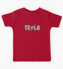 TESLA-AC|DC Kids Tee