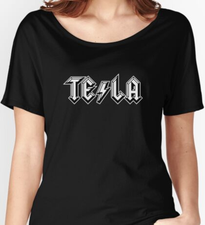 TESLA-AC|DC Women's Relaxed Fit T-Shirt