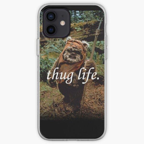 Ewok Thuggin ' Funda blanda para iPhone