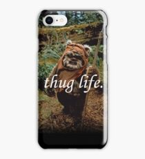 Ewok Thuggin' iPhone Case/Skin