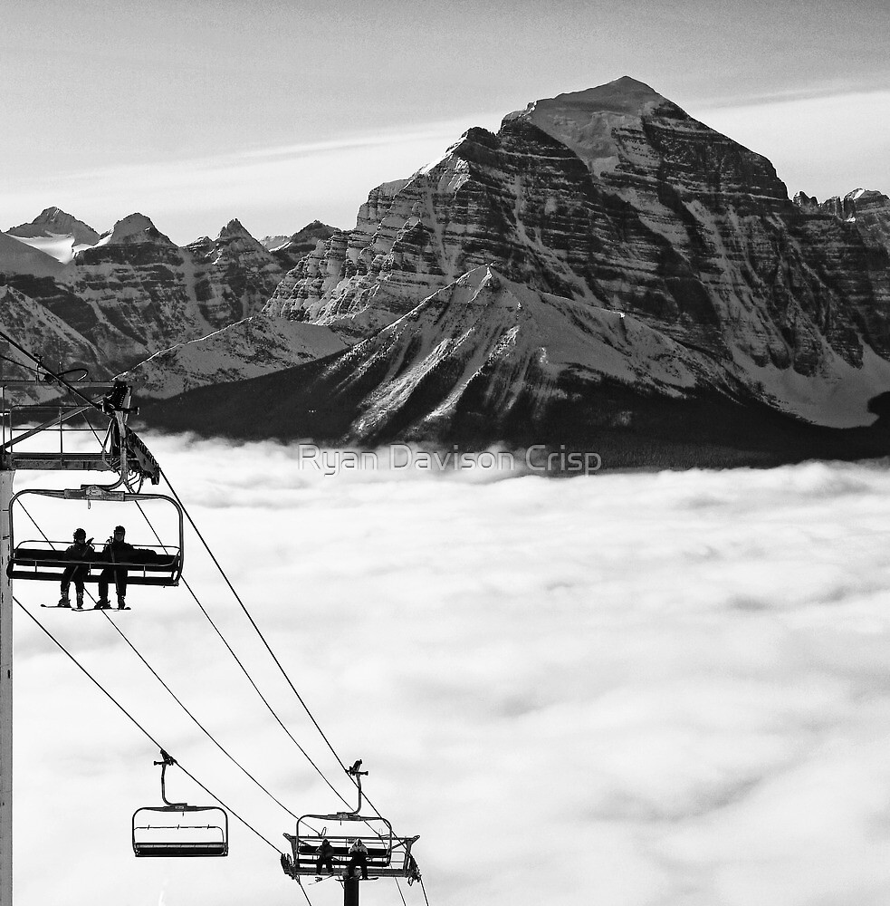 Chairlift to Heaven by Ryan Davison Crisp