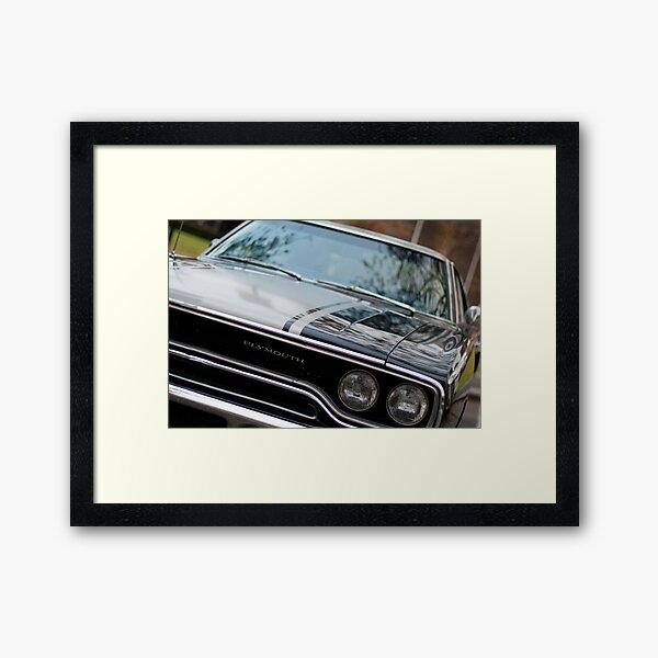 Muscle cars - Plymouth GTX Framed Art Print