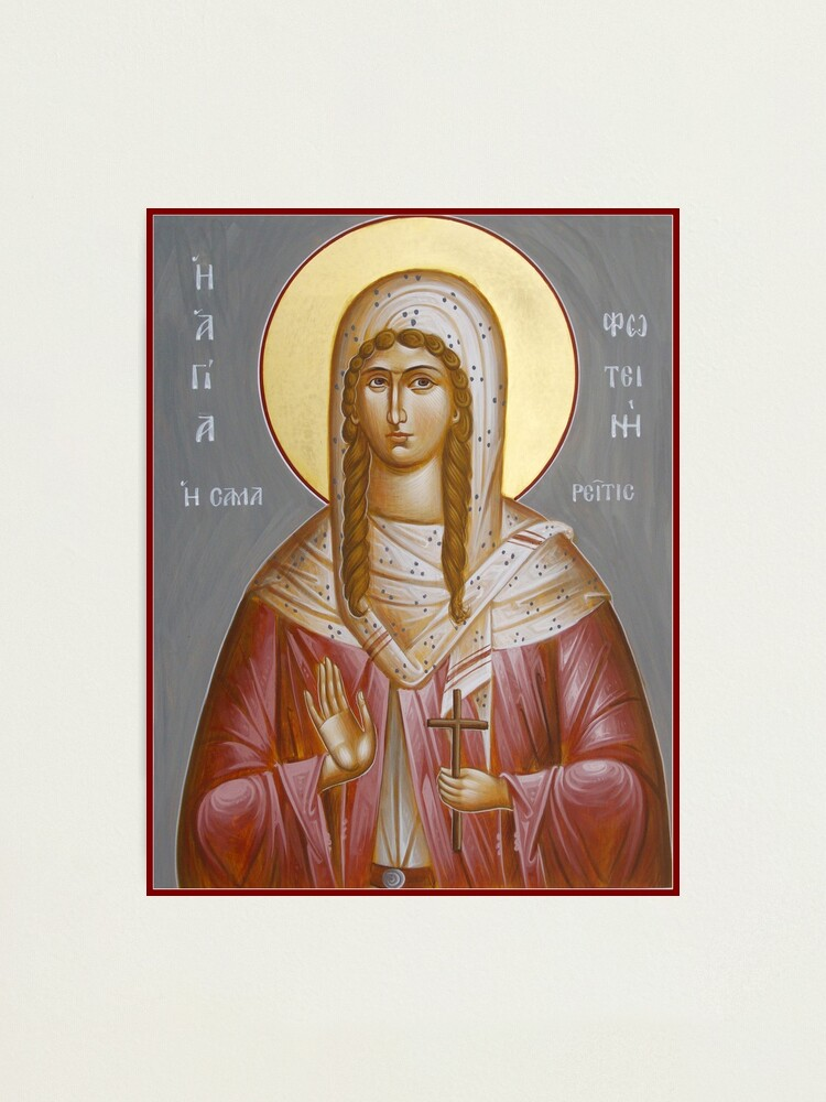 Alternate view of St Photini - The Samaritan Woman Photographic Print