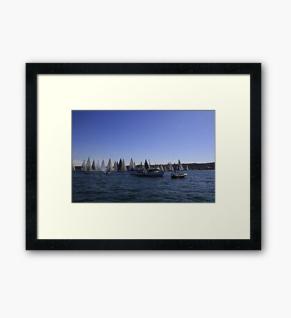 Race Start Sydney-Southport Framed Print