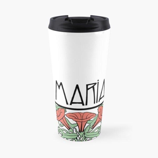 Art Nouveau Maria Travel Mug