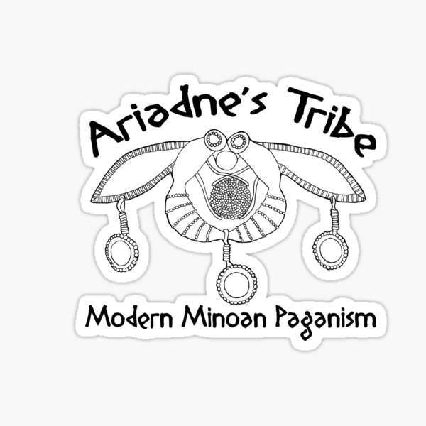Modern Minoan Paganism Official Logo Sticker