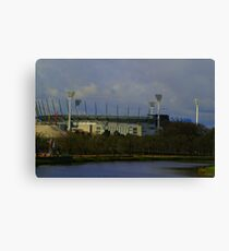 Melbourne Cricket Ground - Home of AFL Footy Canvas Print