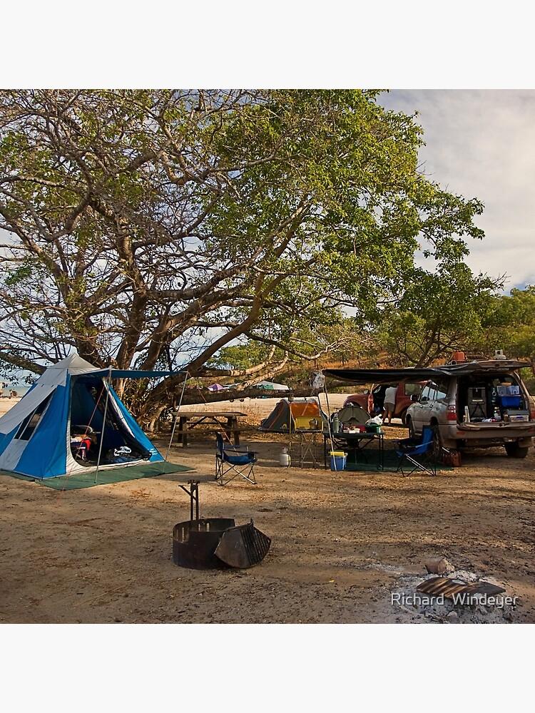 Campsite at Bathurst Head, Qld by RICHARDW