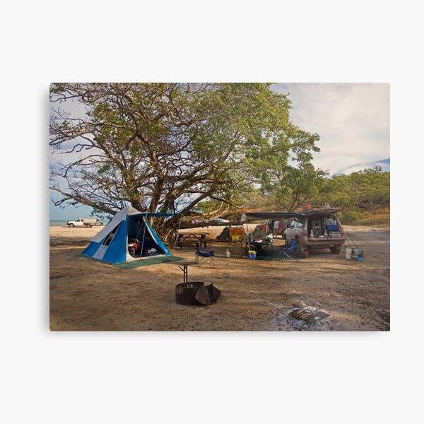 Campsite at Bathurst Head, Qld Metal Print