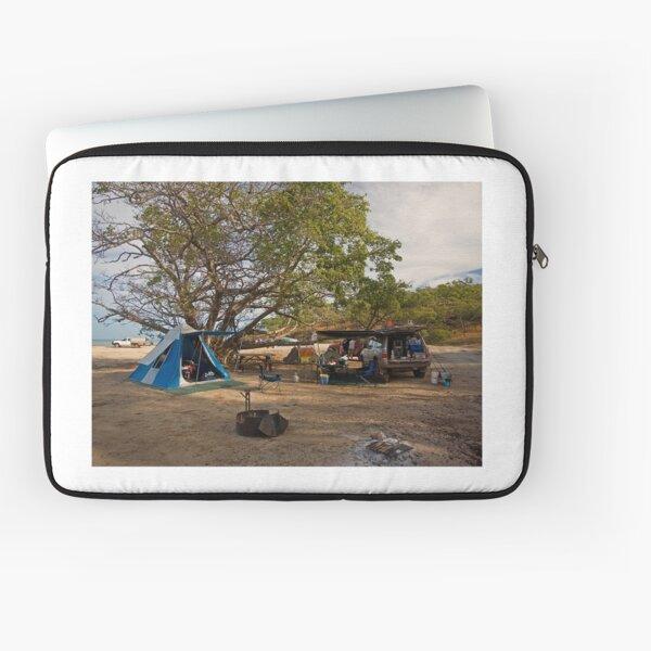Campsite at Bathurst Head, Qld Laptop Sleeve