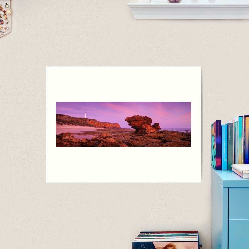 Split Point Lighthouse, Aireys Inlet, Victoria, Australia Art Print