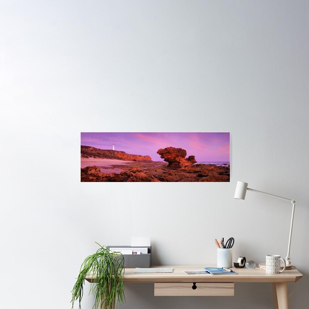 Split Point Lighthouse, Aireys Inlet, Victoria, Australia Poster