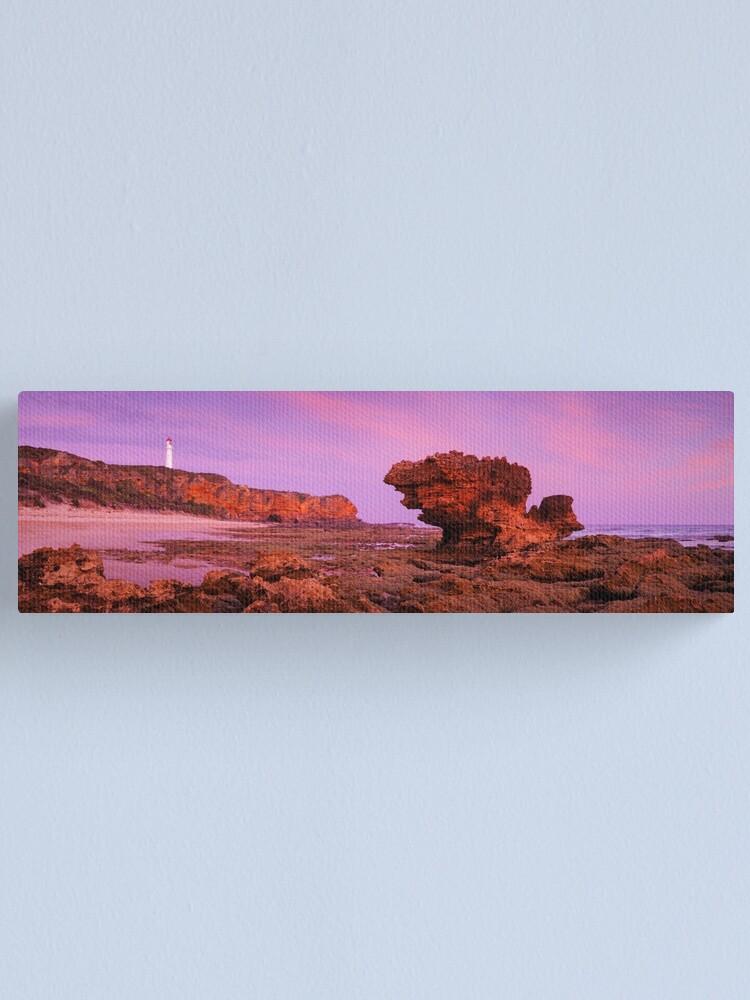 Alternate view of Split Point Lighthouse, Aireys Inlet, Victoria, Australia Canvas Print