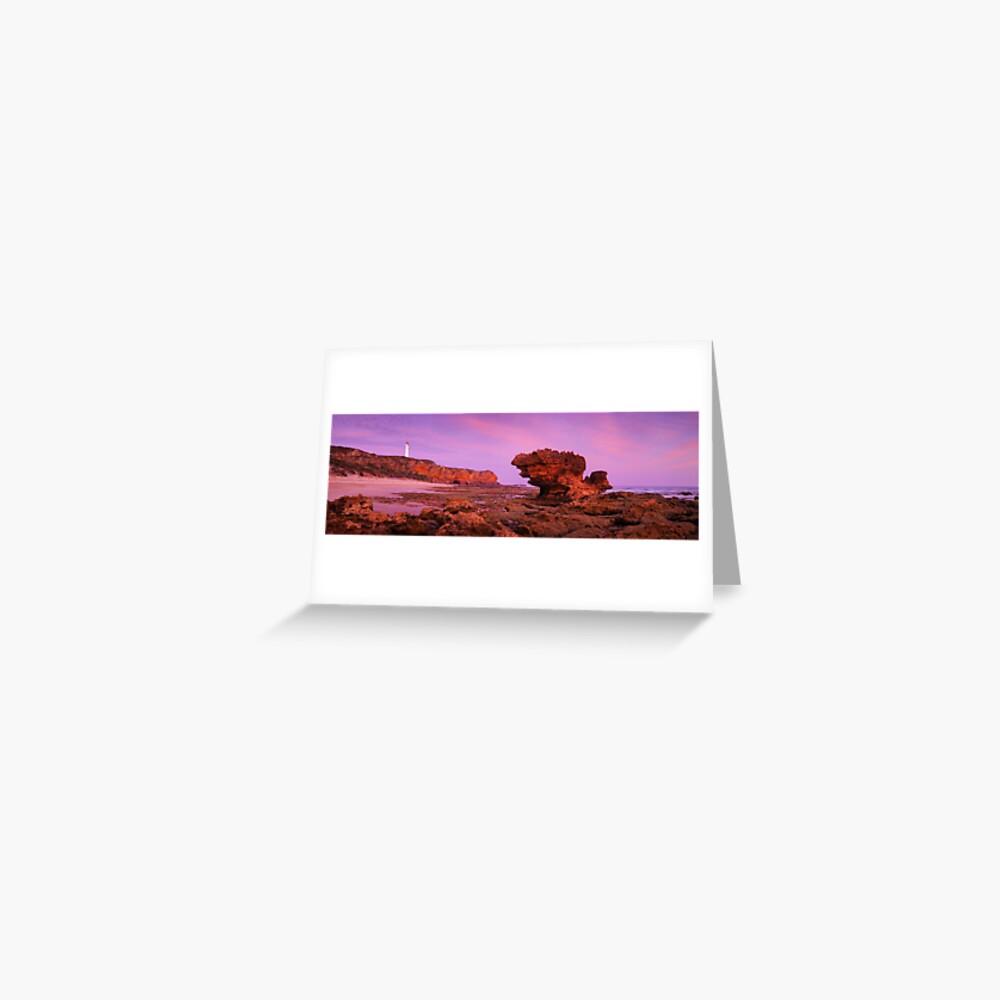 Split Point Lighthouse, Aireys Inlet, Victoria, Australia Greeting Card