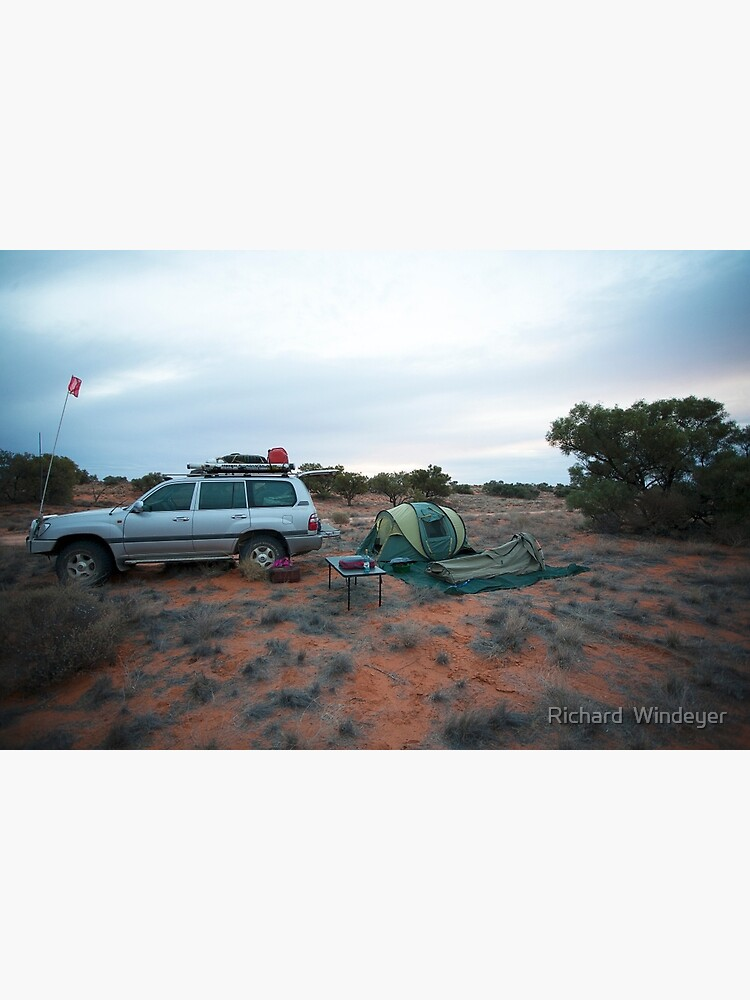 Campsite Hay River Track, Simpson Desert, NT by RICHARDW