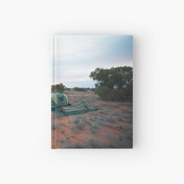 Campsite Hay River Track, Simpson Desert, NT Hardcover Journal